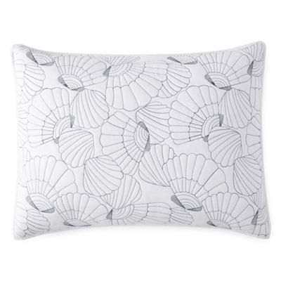 JCPenney Home Oceana Embroidered Pillow Sham
