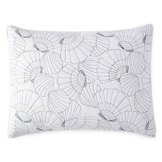 JCPenney Home Oceana Embellished Pillow Sham