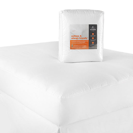 Jcpenney Home Asthma Allergy Friendly Allergen Barrier Mattress Pad