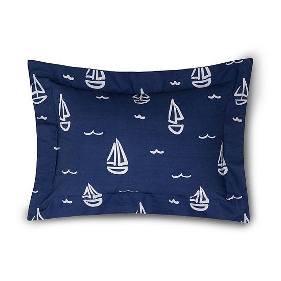 Lullaby Bedding Away At Sea Boudoir Pillow