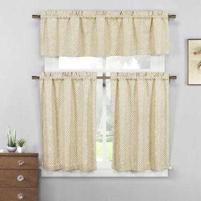 Mira Poly/Cotton Kitchen Curtain