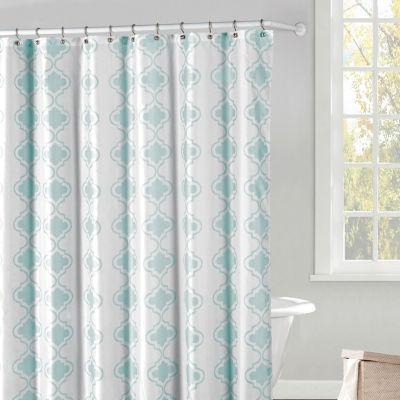 Duck River Crystal Peva 13Pc Shower Curtain Set
