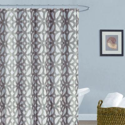 Duck River Uxbridge Faux Shower Curtain Set