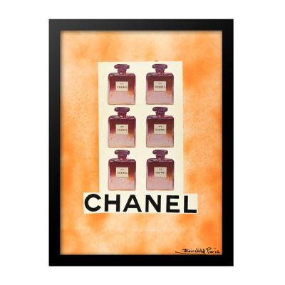 Fairchild Paris Pink Chanel No. 5 Framed Wall Art