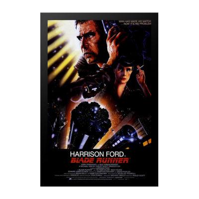Blade Runner (1982) Movie Poster Framed Wall Art