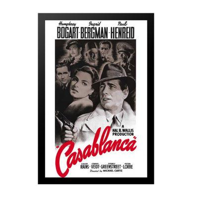 Casablanca (1956) Movie Poster Framed Wall Art