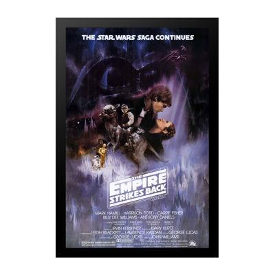 Empire Strikes Back; The (1980) Movie Poster Framed Wall Art