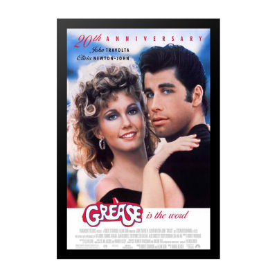 Grease (1997) Movie Poster Framed Wall Art
