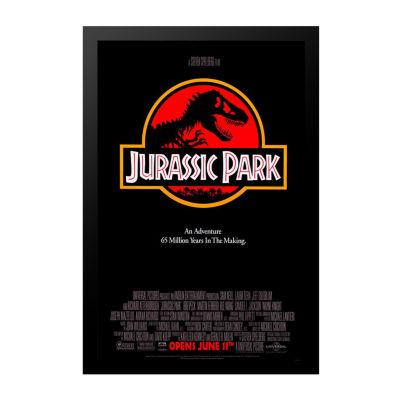 Jurassic Park (1992) Movie Poster Framed Wall Art