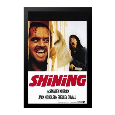 Shining; The (1980) Movie Poster Framed Wall Art