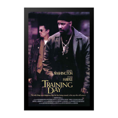 Training Day (2001) Movie Poster Framed Wall Art