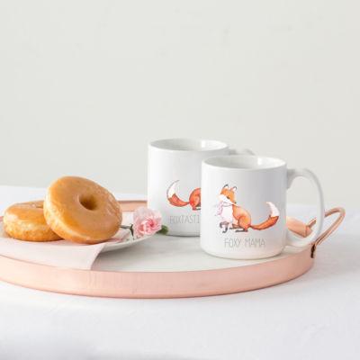 Cathy's Concepts Foxtastic Dad And Foxy Mama 2-pc. Coffee Mug