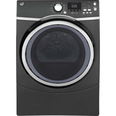 GE® ENERGY STAR® 7.5 cu. ft. Capacity Front Load Electric Dryer with Steam