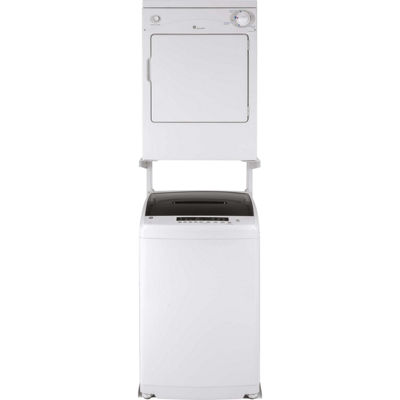 GE Space-Saving 2.8 DOE cu. ft. Capacity Portable Washer with Stainless Steel Basket