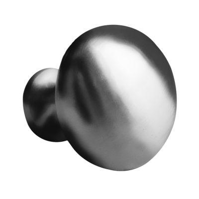 1.25-in. W Round Brass Cabinet Knob