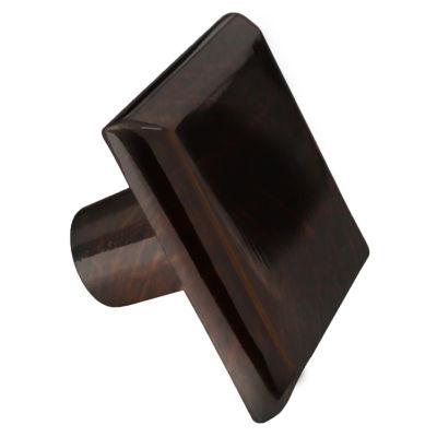 1.2-in. W Square Brass Cabinet Knob