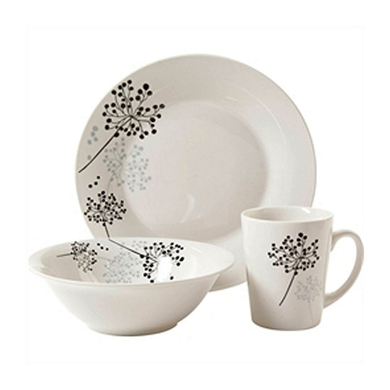 Gibson Netherwood 12-pc. Dinnerware Set