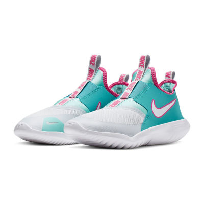 Nike Nk Flx Runnr Aqua Gs Big Kids Girls Pull-on Sneakers