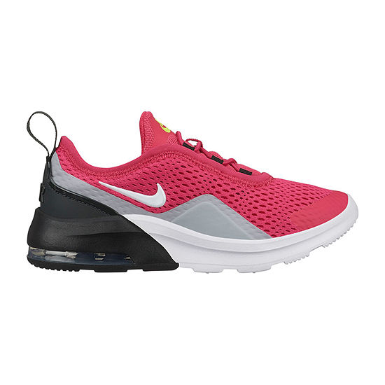 Nike Air Max Motion 2 Little Kids Girls Lace-Up Sneakers
