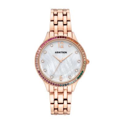 Armitron Womens Rose Goldtone Bracelet Watch-75/5644mprg