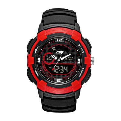 Skechers Highview Mens Black Strap Watch-Sr1074