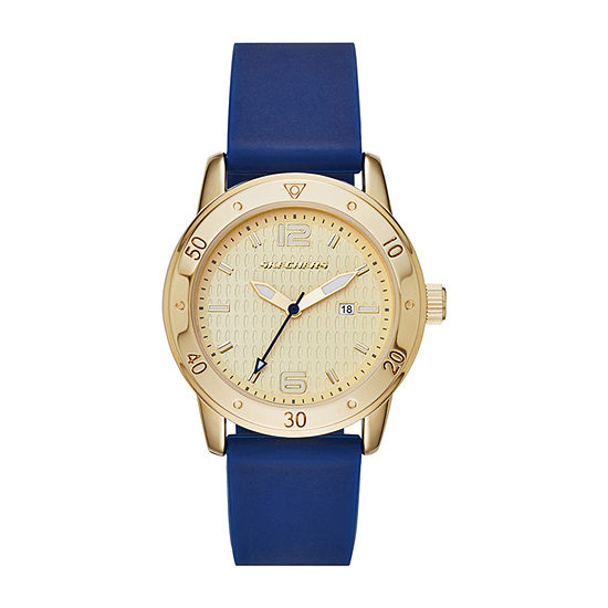 Skechers Redondo Womens Blue Strap Watch-Sr6052