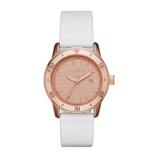 Skechers Redondo Womens White Strap Watch-Sr6053