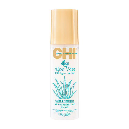 Chi Styling Aloe Vera With Agave Moisturizing Curl Hair Cream-5 oz.
