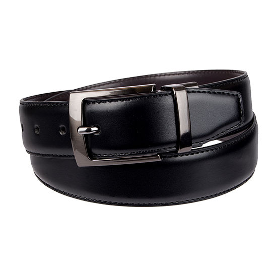 Stafford® Men's Reversible Dress Belt with Feather Edge