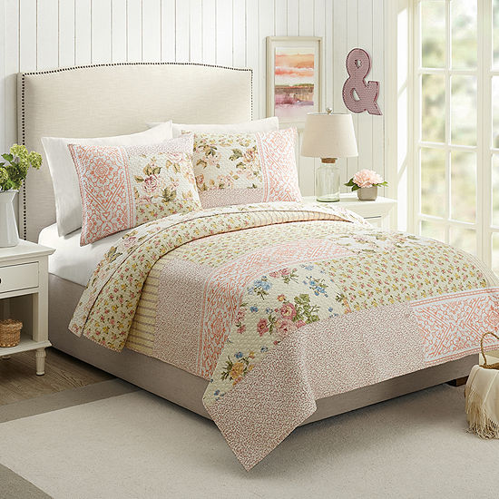 Mary Jane's Home Sweet Blooms Floral Quilt