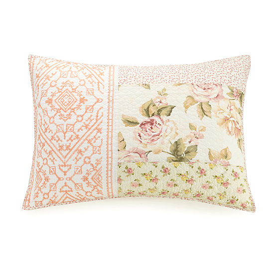 Mary Janes Home Sweet Blooms Pillow Sham