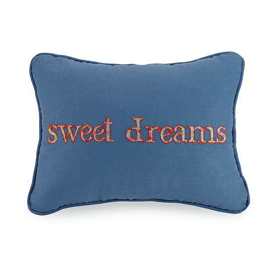 Mary Jane's Home Sweet Dreams Rectangular Throw Pillow