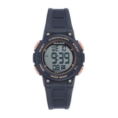 Armitron Womens Blue Strap Watch-45/7086rnv