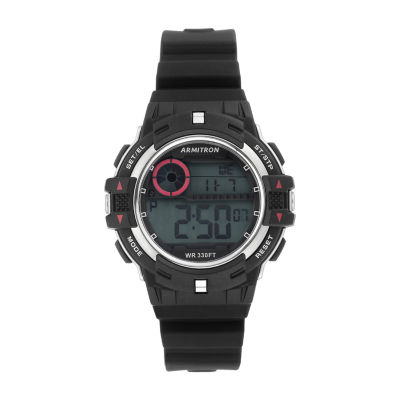 Armitron Womens Black Strap Watch-45/7112sbk