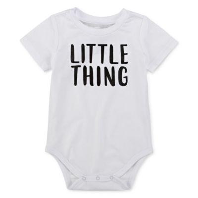 City Streets Girls Round Neck Short Sleeve Graphic T-Shirt-Baby