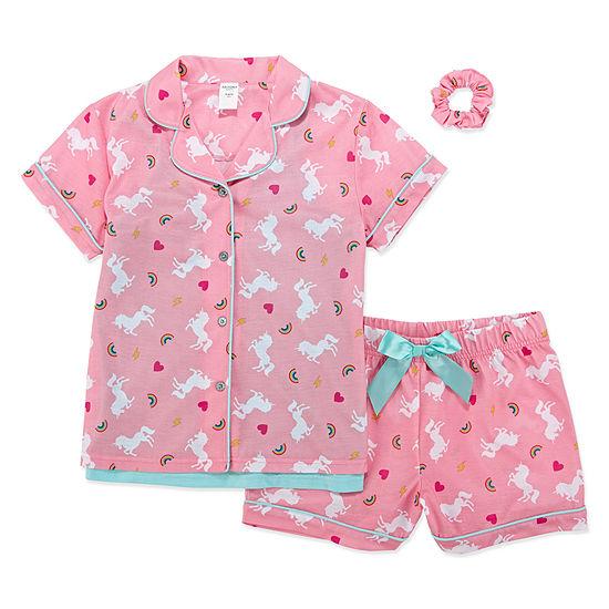 Arizona Shorts Pajama Set with Matching Camisole - Girls