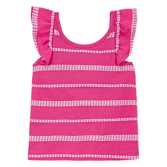 Okie Dokie Girls Crew Neck Tank Top Baby
