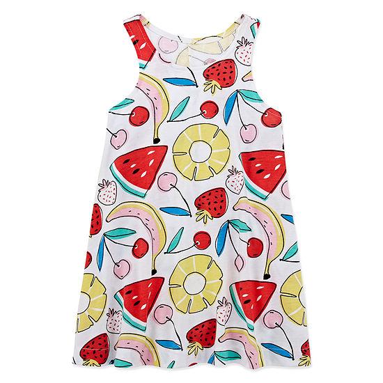 Okie Dokie Girls Sleeveless Sundress - Toddler