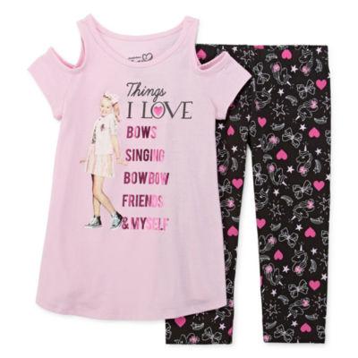 Jojo Siwa 2-pc. Legging Set Preschool / Big Kid Girls