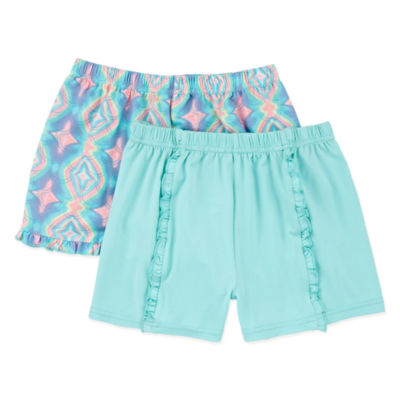 Freestyle Girls Mid Rise Shortie Short