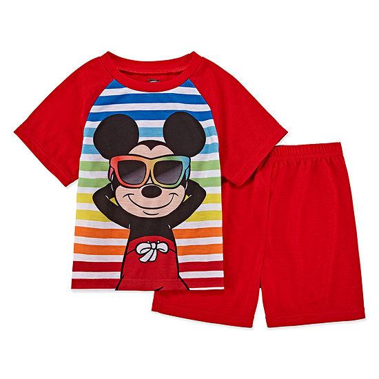 Disney Boys 2-pc. Mickey Mouse Pajama Set Toddler