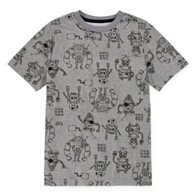 Arizona Boys Crew Neck Short Sleeve Graphic T-Shirt - Preschool / Big Kid