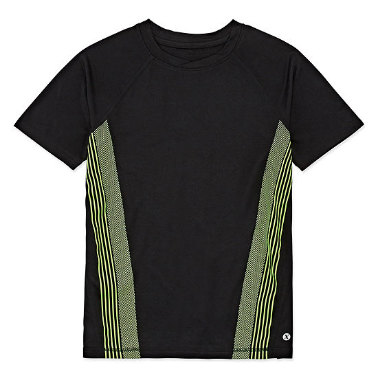 Xersion Boys Crew Neck Short Sleeve T-Shirt Preschool / Big Kid