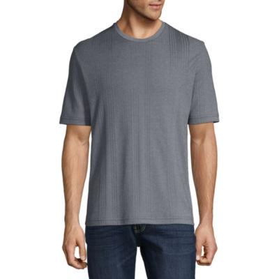 Claiborne Mens Drop Needle T-Shirt