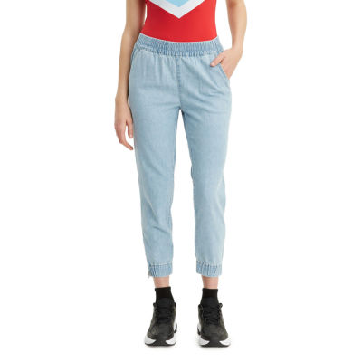 Levi's Mid Rise Cropped Pants