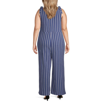 Arizona Sleeveless Jumpsuit-Juniors