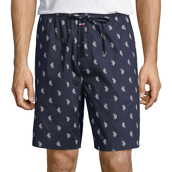 Us Polo Assn Poplin Pajama Shorts