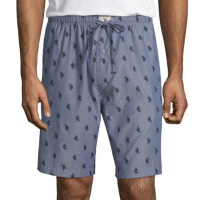 U.S. Polo Assn. Mens Chambray Pajama Shorts