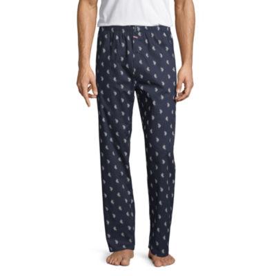 U.S. Polo Assn. Mens Poplin Pajama Pants