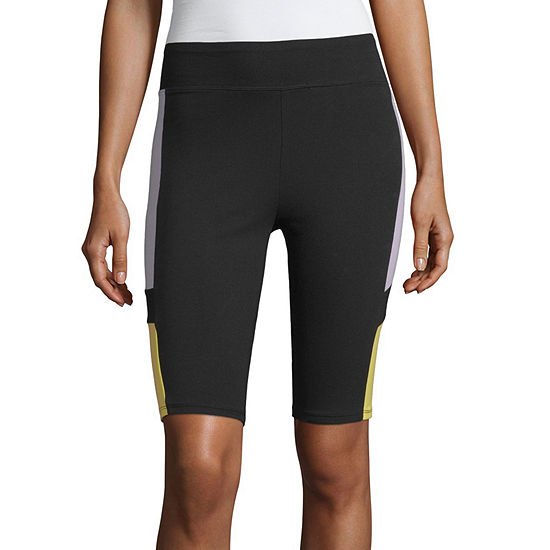 "Flirtitude Colorblock 10"" Bike Short- Juniors"